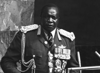 Idi Amin at the UN